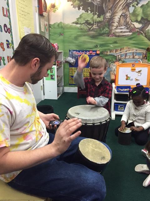 drum lessons in pre school